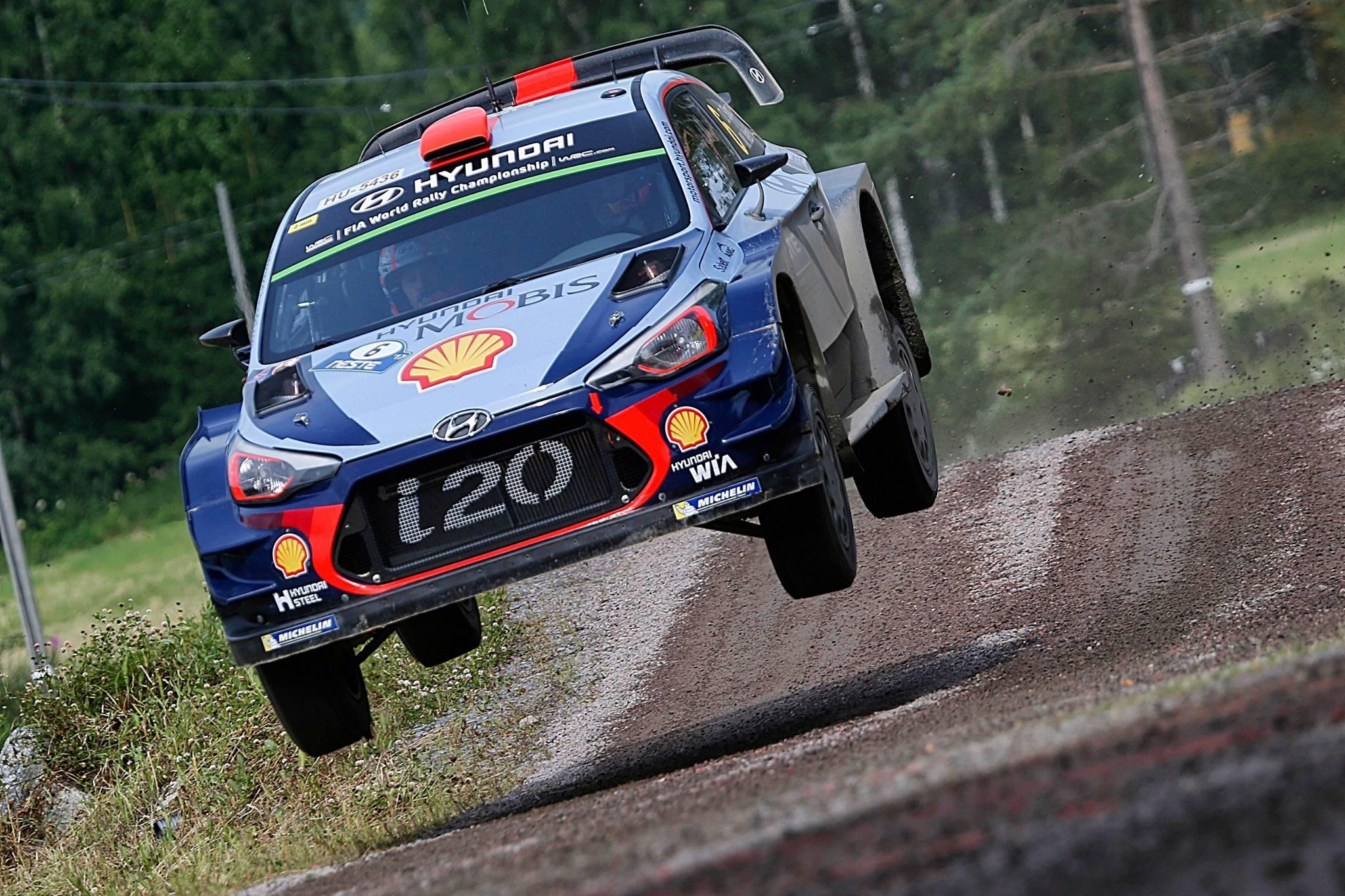 WRC-Rally- Hyundai I 20