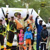 2018 Safari Rally Awards Top Three winners