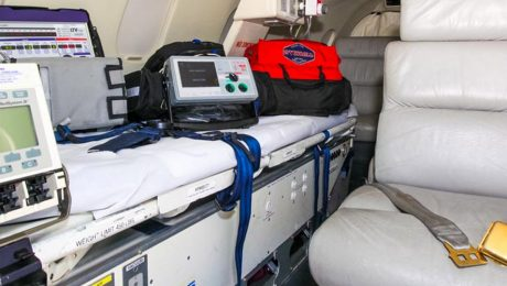 Presidential standard medical equipment for Safari Rally